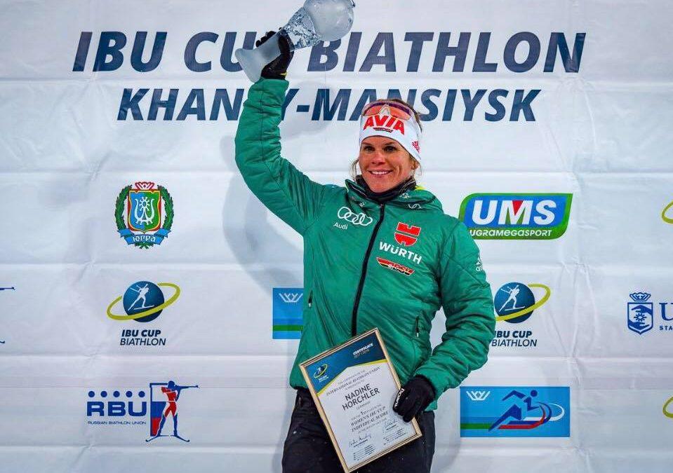 Gesamtwertungen im Alpencup, IBU-Junior Cup, IBU-Cup
