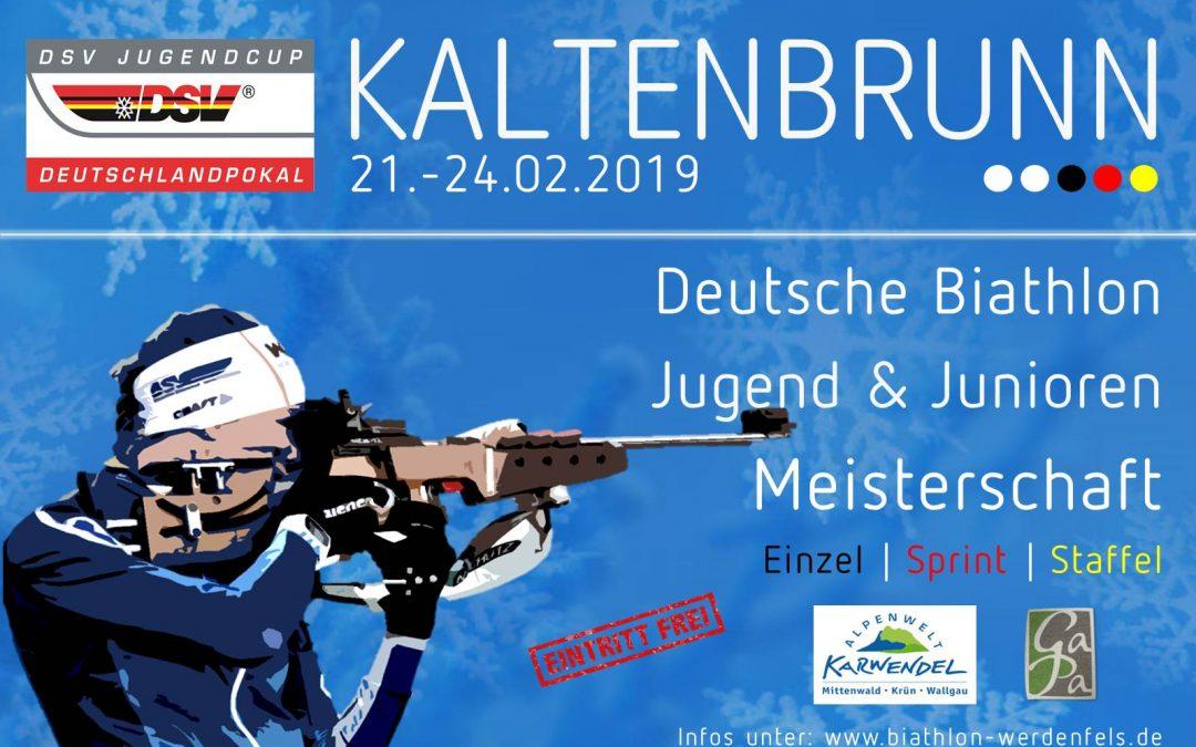 Deutsche Biathlon Meisterschaften für Jugend & Junioren