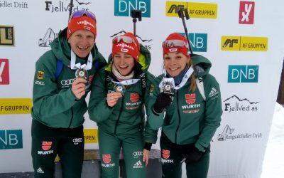Erfolgreiche Junioren Europameisterschaft in Sjusjoen
