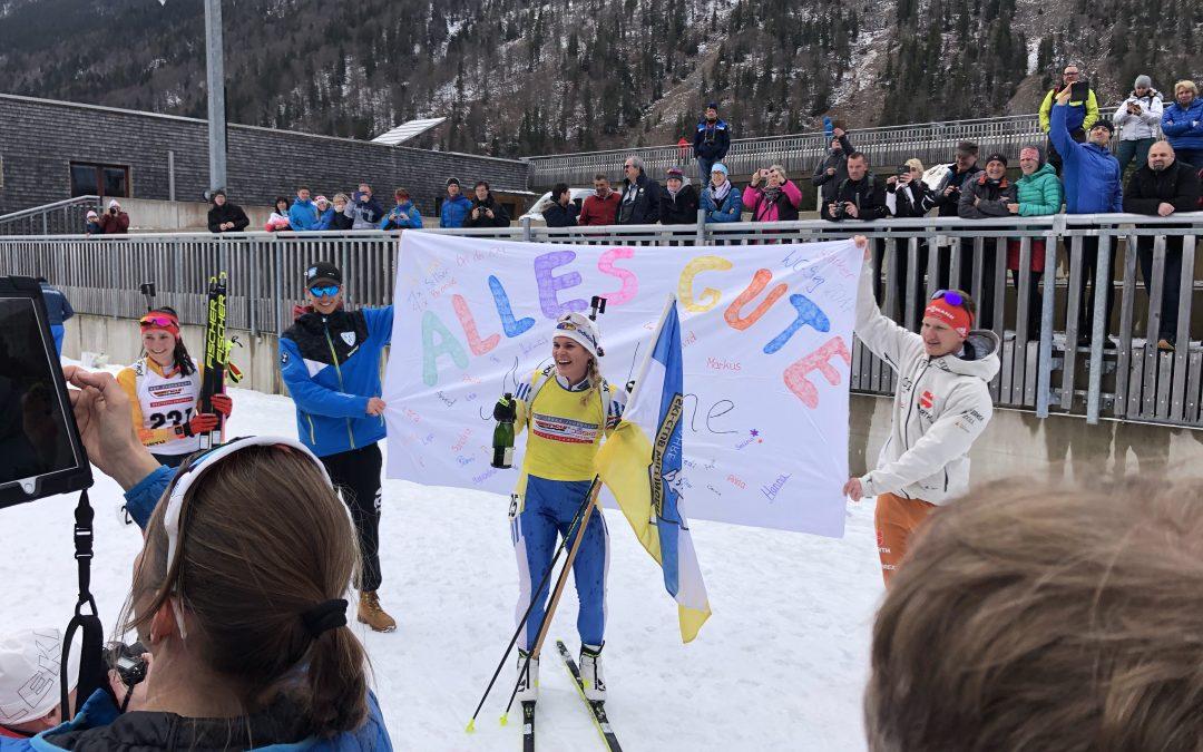 Nadine Horchler verabschiedet sich nach 20 Jahren Biathlon