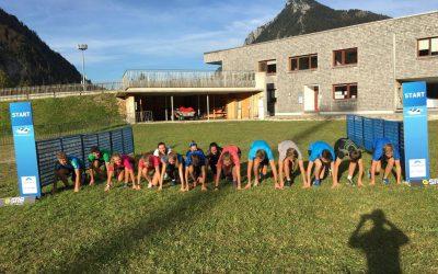 Die Jugend ist in die Biathlonsaison gestartet