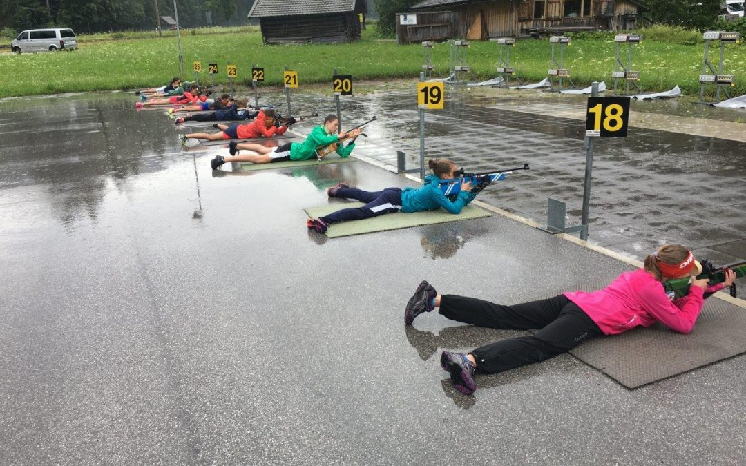 Sommerleistungskontrolle der Schüler-Biathleten